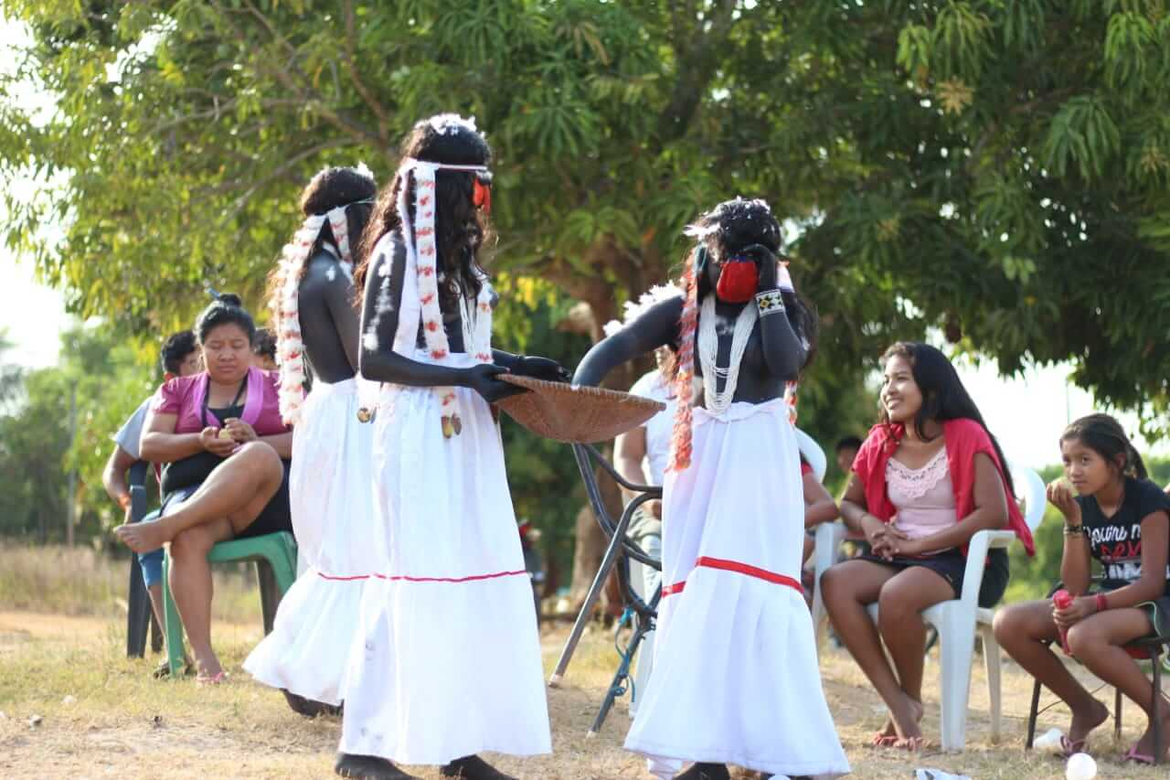 mulheres guajajara e ritual